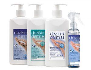 izdelki za dezinfekcijo rok